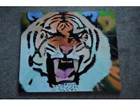Modern Art Style Tiger Painting