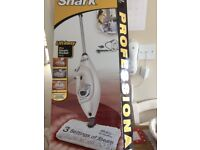 Shark lift away steam cleaner + garment steamer