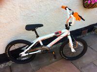 """Piranha P120 – Kids' bike – 18"""" wheel, 6-9 yrs. VGC – unused."""