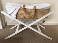 John Lewis Moses basket stand