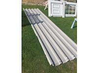 Metal sheets (ideal for shed roof)