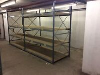 Shelving and Racking. Industrial grade ideal for warehouse or garage