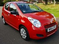 SUZUKI ALTO 1.0L (2014 64 REG) SZ + NEW SHAPE + FREE TAX + LOW MILEAGE