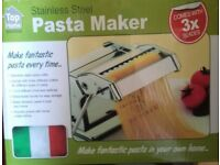 Pasta Maker - stainless steel £5