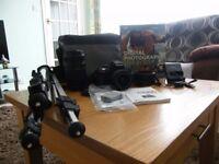 Nikon D3300 Digital SLR Camera with VR Nikon 18-55 & Tam 70-300 Zoom lens, hardly used