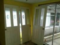 5 internal part glazed doord