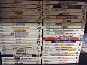 Nintendo Wii Games and Accessories!! Over 40 Games! Console!