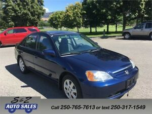 2003 Honda Civic LOW KM!