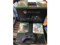 Xbox one with one game