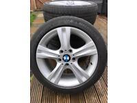 "17"" BMW 1 Series Alloys X4"