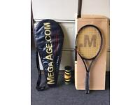 BRAND NEW Junior Tennis Racket, case and set of balls