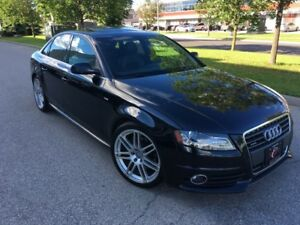 2011 AUDI A4 SLINE PREMIUM NO ACCIDENTS CLEAN CARPROOF AWD