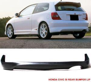2002 - 05 Honda Civic SIR Hatchback EP3 Type R Style Rear Lip