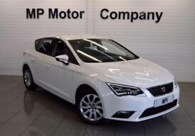 2014 14 SEAT LEON 1.2 TSI SE TECHNOLOGY DSG 5D AUTO 110 BHP SPORTS HATCH,WHITE