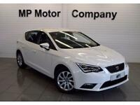 2014 14 SEAT LEON 1.2 TSI SE TECHNOLOGY DSG 5D AUTO 110 BHP SPORTS HATCH,WHITE