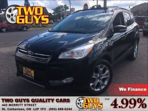 2013 Ford Escape SEL LEATHER AWD NAV PANOROOF 2.0L