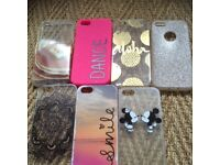 I phone 5/5s cases (bundle of 7).