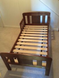 John Lewis toddler bed for sale. Used but in very good condition. Mattress included if required.
