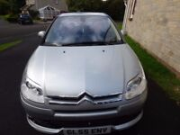 2005 CITROEN C4 VTS SILVER 2.0 PETROL MANUAL COUPE