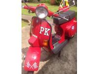 Vespa pk 125s Douglas px