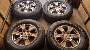 FORD F-150 FX-4 18 INCH RIMS & TIRES $1200.00