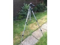 Manfrotto tripod and head