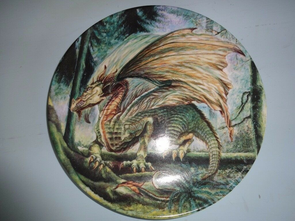 Four Dragon Plates Two With Wizards On For Salein Christchurch, DorsetGumtree - Four Dragon Plates Two With Wizards one all in Mint Condition £20 Each Or All Four For £70 All Viewings are welcome No Time Wasters Please Sorry no holding first come first serve basses only Ads Will Be Deleted When Gone All Items Are Sold As Seen...