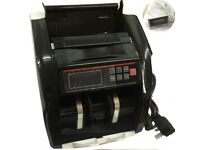Banknote Multi-Currency Bill Money Counter Cash Counting Machine for EU, US ,AUD