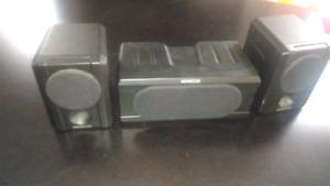 Kenwood surround speakers