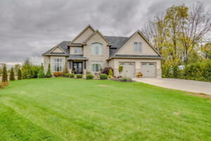 Amazing Custom Built 2-Storey Rurally located but close to town!