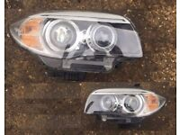 OEM Full LED Bixenon RHD UK headlights BMW E88 E81 E82 E87 1er 1 series 1st Gen 2005 - 2013 RHD