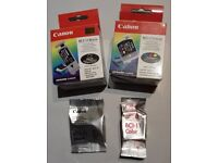 Canon BCI-11 Colour and Black ink cartridges