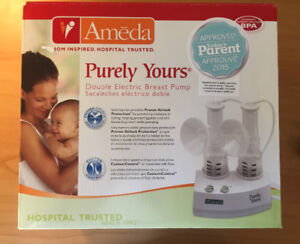 Ameda double electric breast pump & Avent breast care thermopads