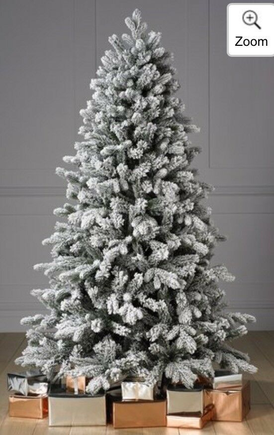Luxury 7ft Frosted Silverton Pine Christmas Tree