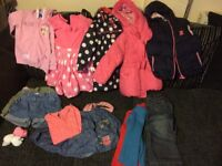 A medium sized selection of Girls clothes for 2-3 years old, all in lovely condition,clean/undamaged