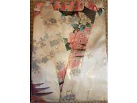 Women's Silk Satin Kimono Robes