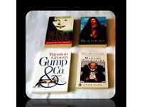 PAPERBACK BOOKS - (4) - FOR SALE