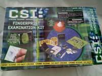 CSI - Fingerprint Examination Kit - unused - £1
