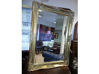 Lovely large antique mirror. perfect condition.