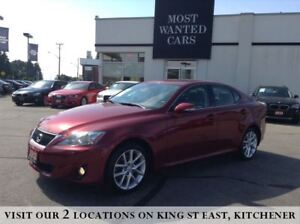 2012 Lexus IS 250 AWD | PADDLE SHIFTERS | XENON HEADLIGHTS