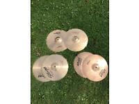 Three sets of Hi-Hats