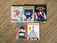 Futurama series 1, 2, 4, 5 & epics , 2 in shrink wrap still, great condition, box sets, tv, dvds