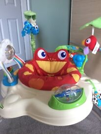 Baby bouncer Fisher Price Rainforest Jumperoo in good condition