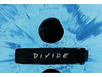 Ed Sheeran Tickets - Manchester Etihad - Fri 25th May 2018 - Standing/General Admission