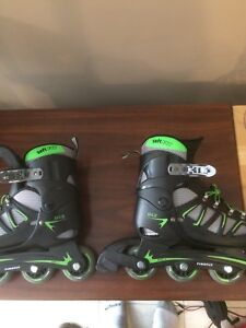 "Roller skates ""size 5-7.5""  (Firefly H40 Boys' Inline Skates)"