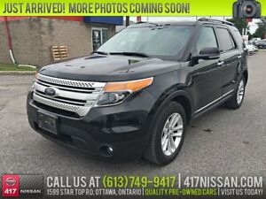 2013 Ford Explorer XLT | Leather, Htd Seats, Rear Camera