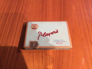 Players tin cigarette box Mild navy cut collectible