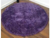 Starlet Twilight - Lavender - 135 x 135 circular rug