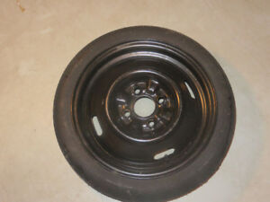 Uniroyal Hideaway Spare Tire With Rim T115/70D/14 - Used Once
