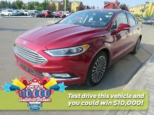 2017 Ford Fusion Titanium 2.0l I4 GTDI - like new!